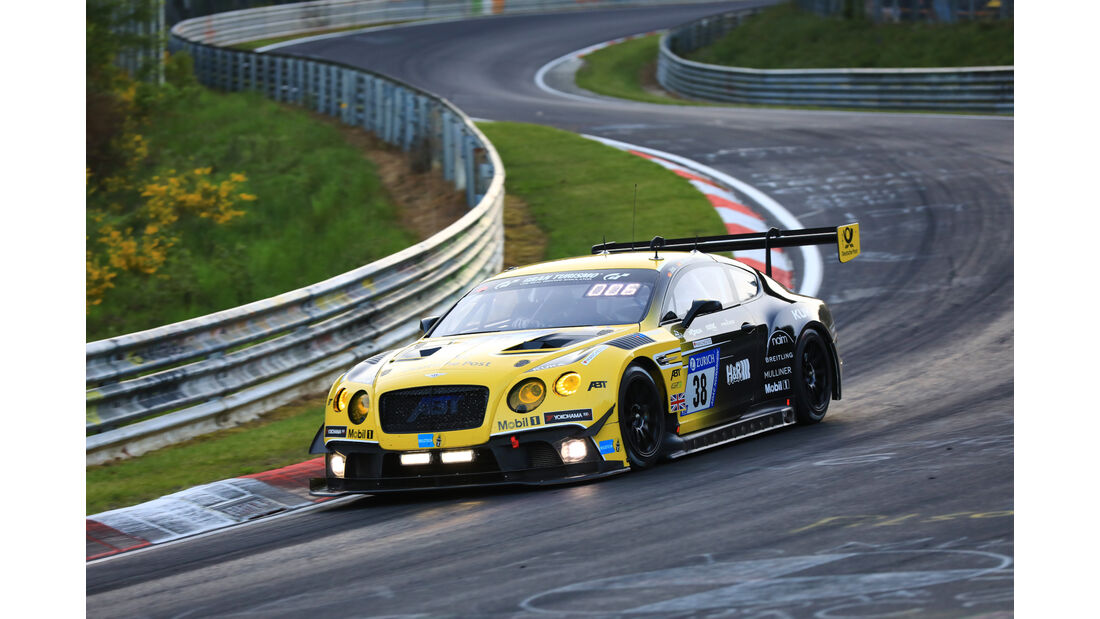 Bentley Continental GT3 - Startnummer #38 - 24h-Rennen Nürburgring 2017 - Nordschleife