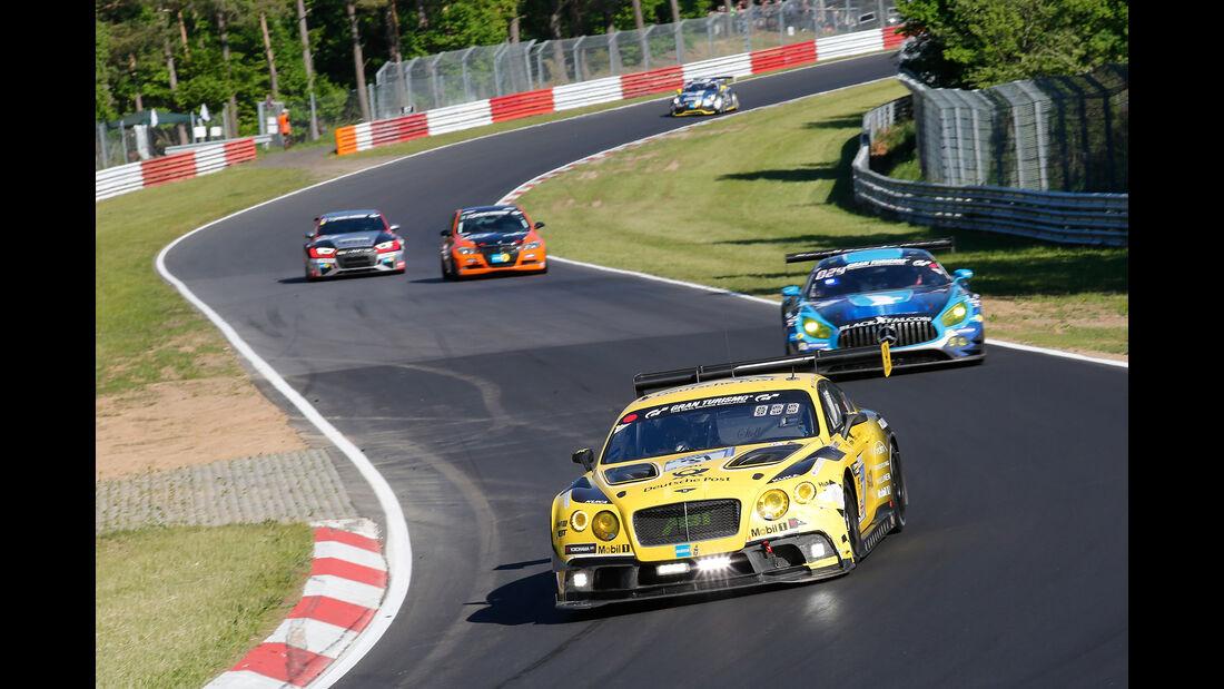 Bentley Continental GT3 - Startnummer 38 - 24h-Rennen Nürburgring 2017 - Nordschleife - Samstag - 27.5.2017