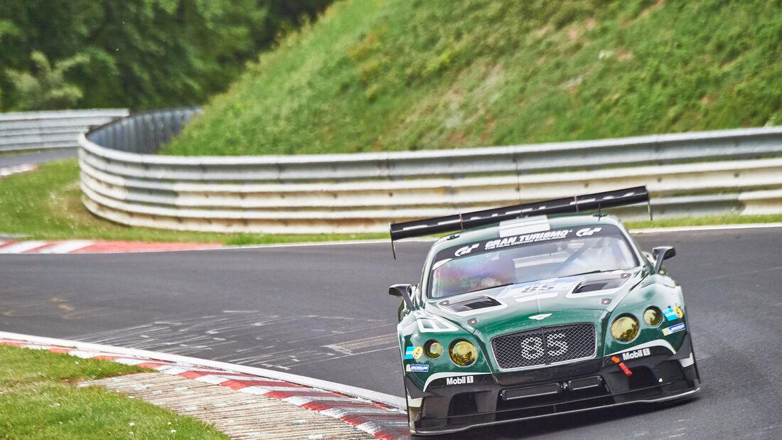 Bentley Continental GT3 - Startnummer: #85 -  24h-Nürburgring 2015 - Donnerstag