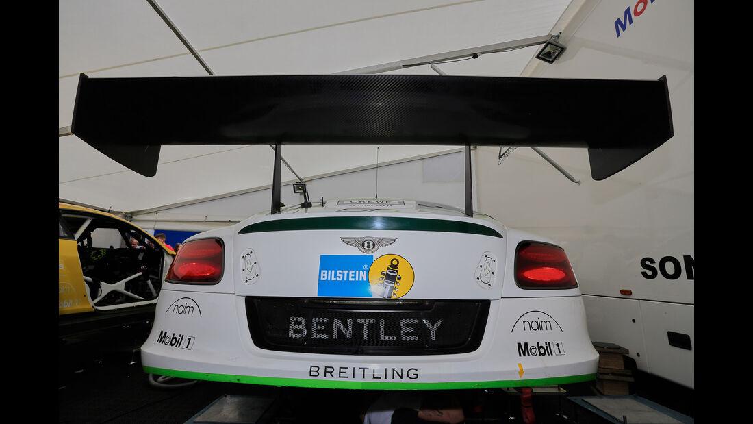 Bentley Continental GT3 - Technik - 24h-Rennen Nürburgring 2016 - Nordschleife
