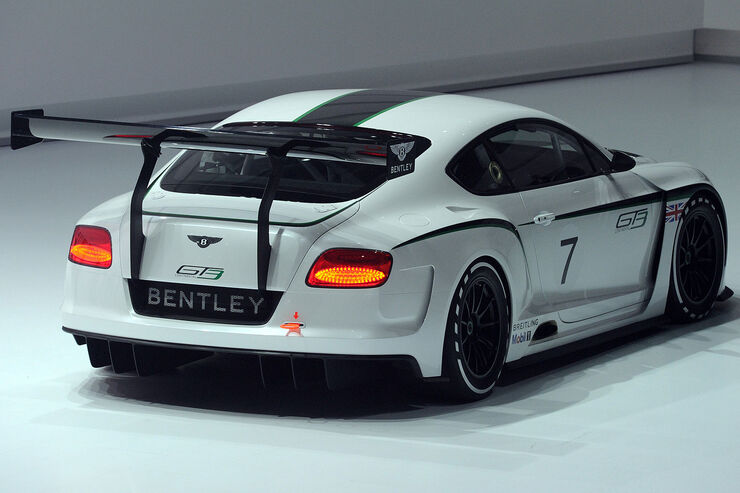 Bentley Continental GT3, VW Konzernabend, Autosalon Paris 2012
