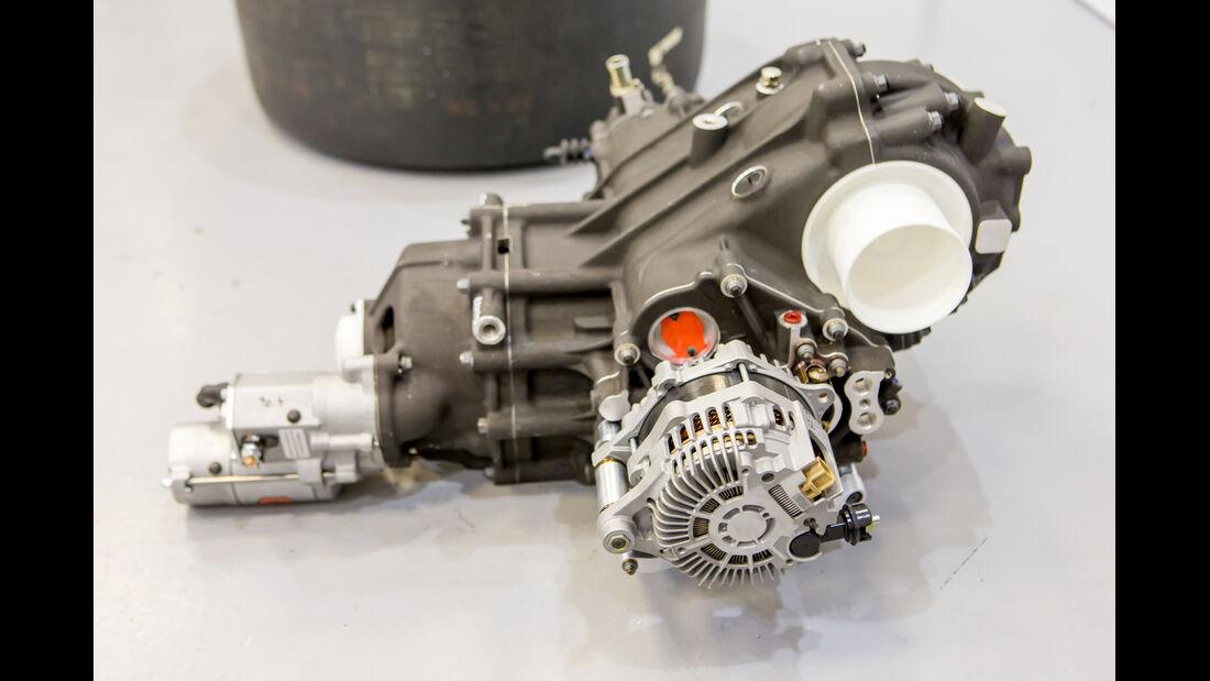 Bentley Continental GT3, Werkstatt, M-Sport