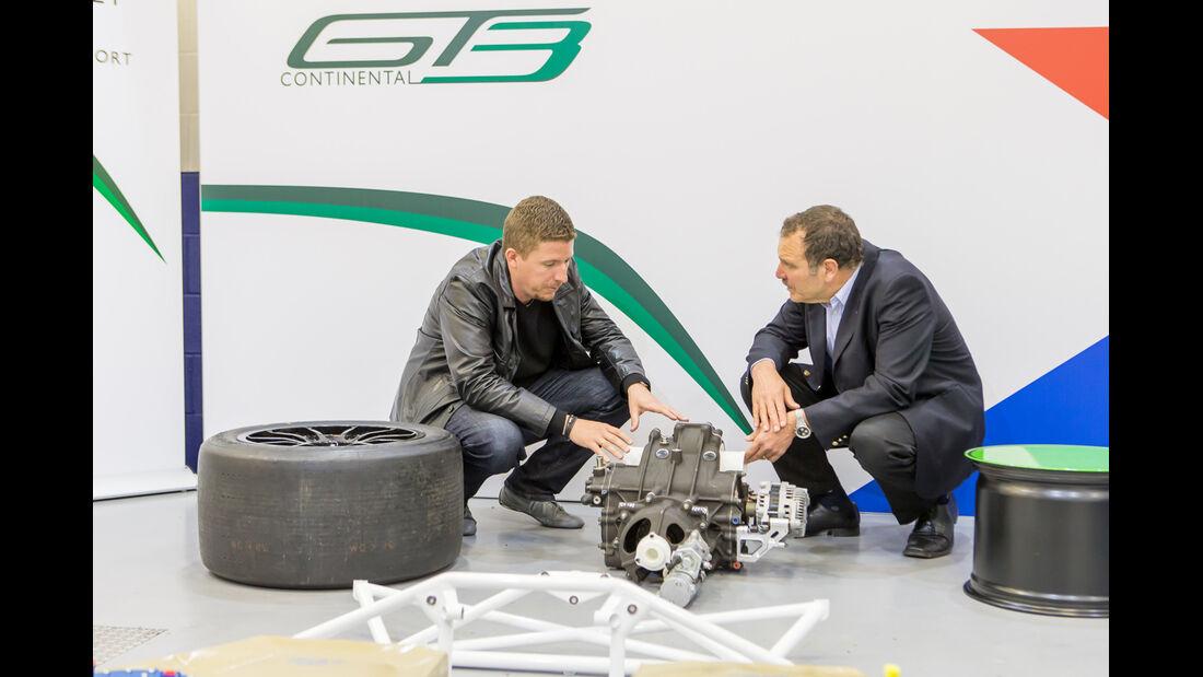 Bentley Continental GT3, X-Trac-Getriebe