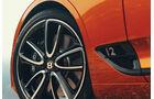 Bentley Continental GTC 2019, Rad, Bremse, Reifen