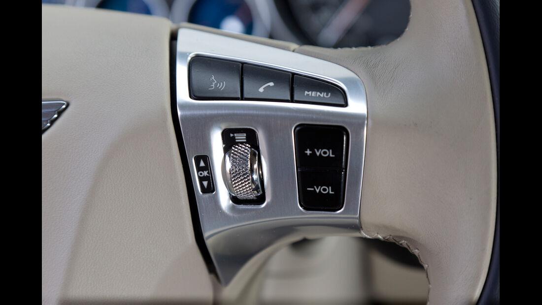 Bentley Continental GTC, Bedienelemente, Fensterheber