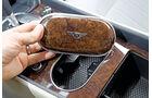 Bentley Continental GTC, Brillenetui, Wurzelholz