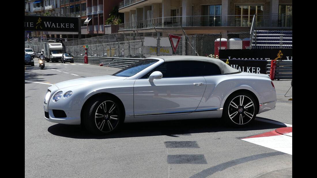 Bentley Continental GTC - Carspotting - GP Monaco 2016
