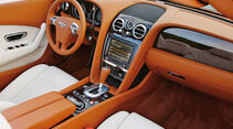 Bentley Continental GTC, Cockpit