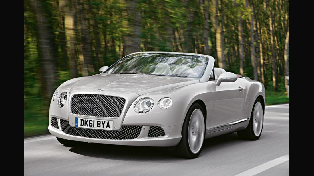 Bentley Continental GTC, Front