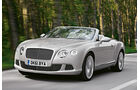 Bentley Continental GTC, Front