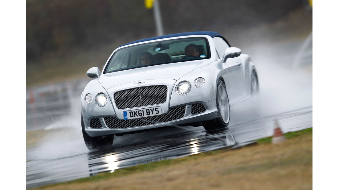 Bentley Continental GTC, Frontansicht