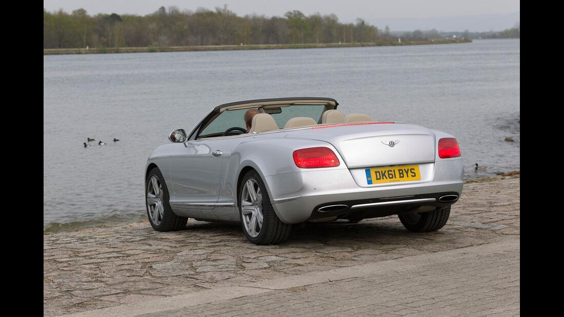 Bentley Continental GTC, Heck