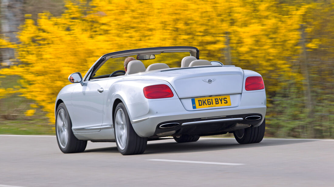 Bentley Continental GTC, Heck