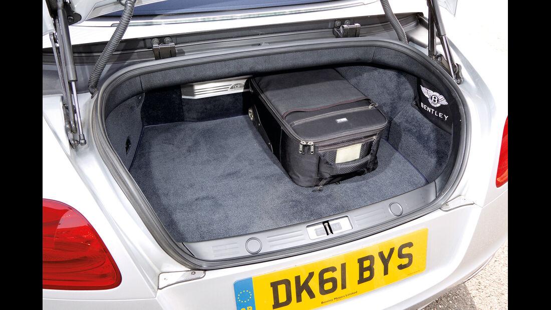 Bentley Continental GTC, Kofferraum