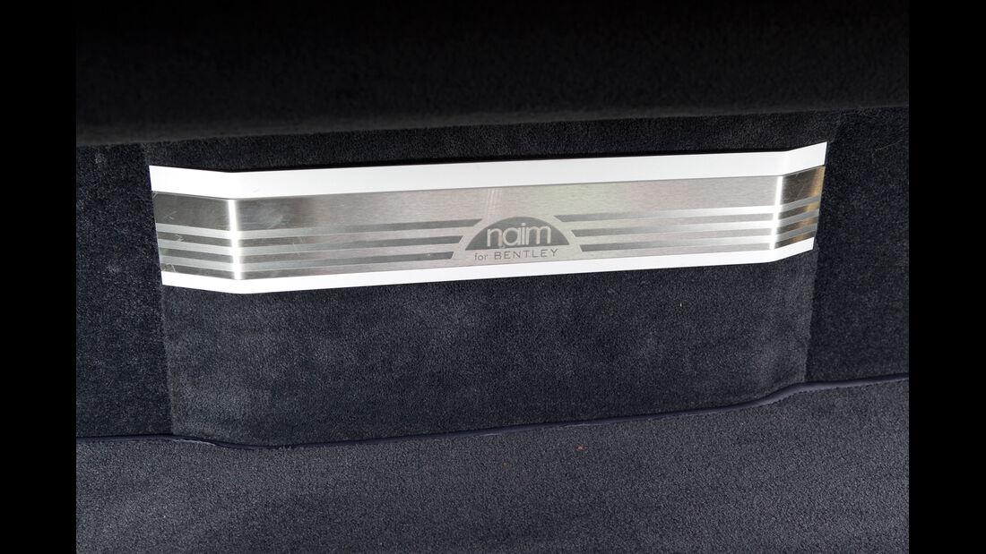 Bentley Continental GTC, Leiste, Emblem