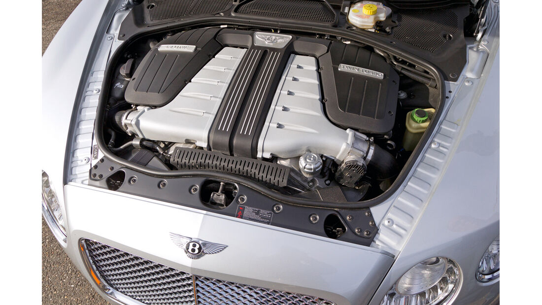 Bentley Continental GTC, Motor
