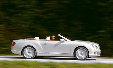 Bentley Continental GTC, Seite