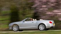 Bentley Continental GTC, Seitenansicht
