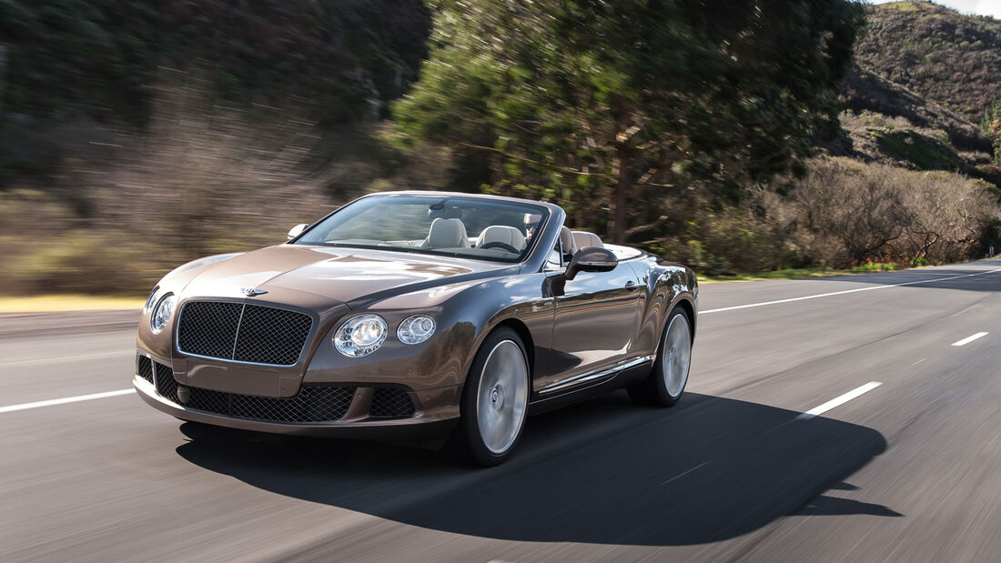 Bentley Continental GTC Speed, Frontansicht