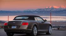 Bentley Continental GTC Speed, Heckansicht