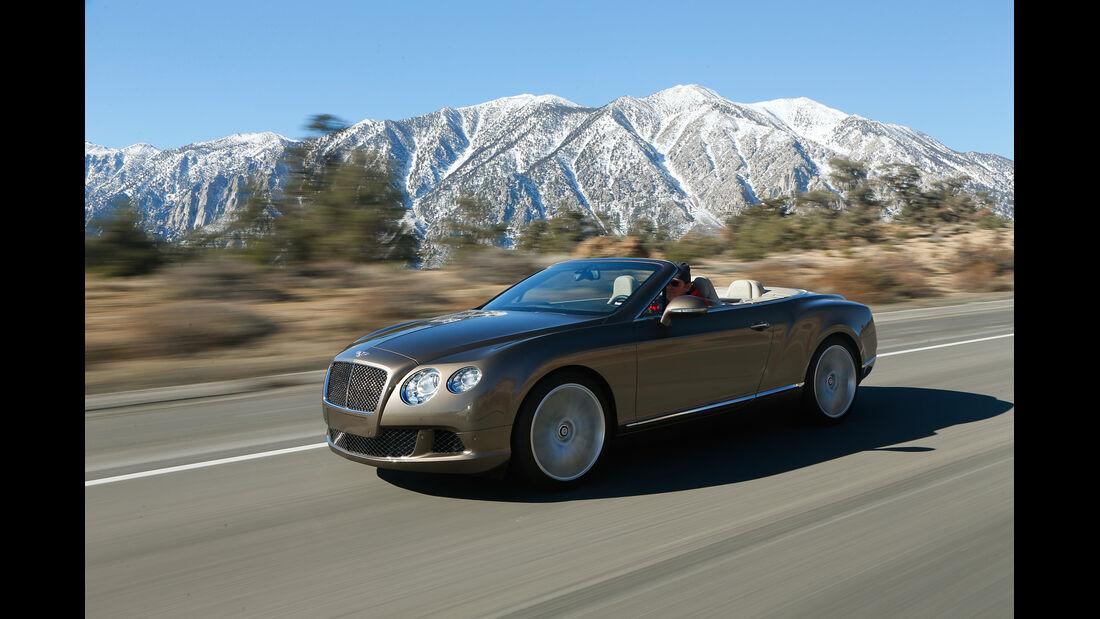 Bentley Continental GTC Speed, Seitenansicht