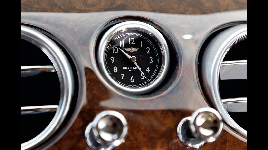 Bentley Continental GTC, Uhr, Breitling