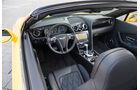 Bentley Continental GTC V8, Cockpit