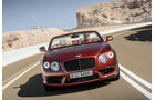 Bentley Continental GTC V8, Frontansicht
