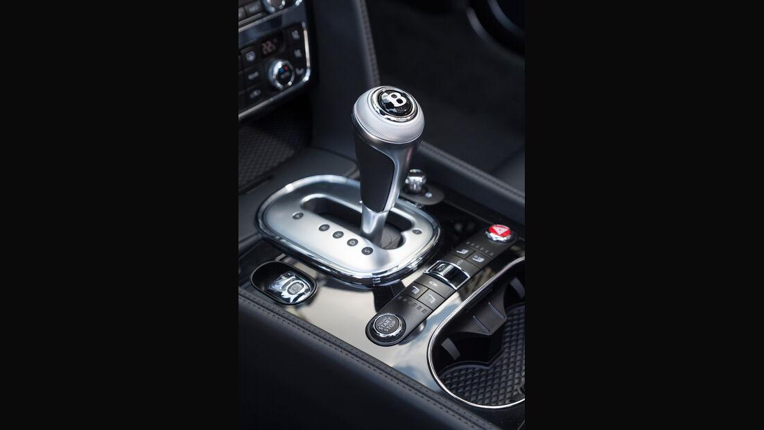 Bentley Continental GTC V8, Schalthebel