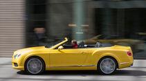 Bentley Continental GTC V8, Seitenansicht