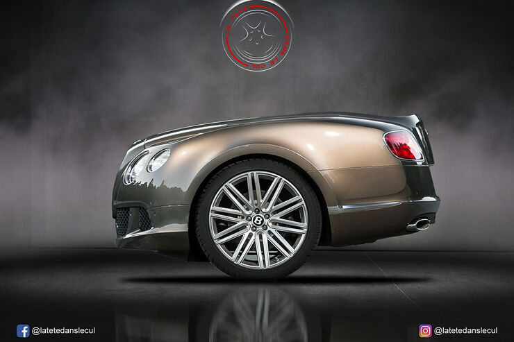 Bentley Continental Retusche
