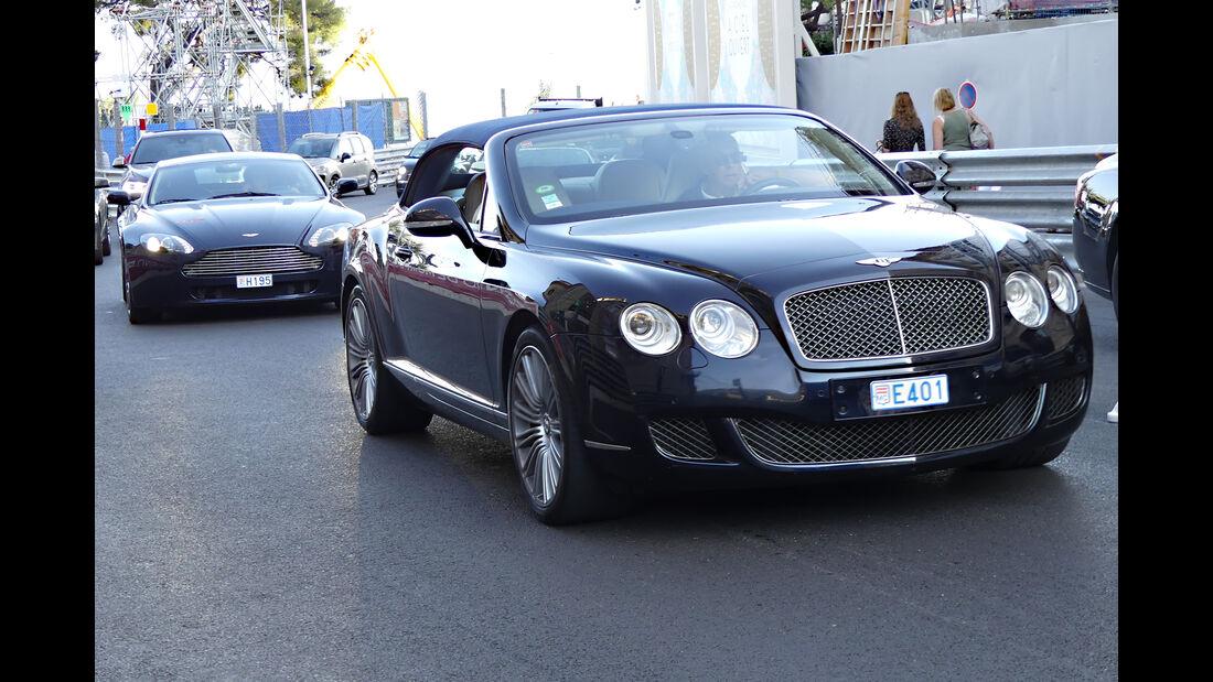 Bentley Continental Speed Convertible - Carspotting - GP Monaco 2016
