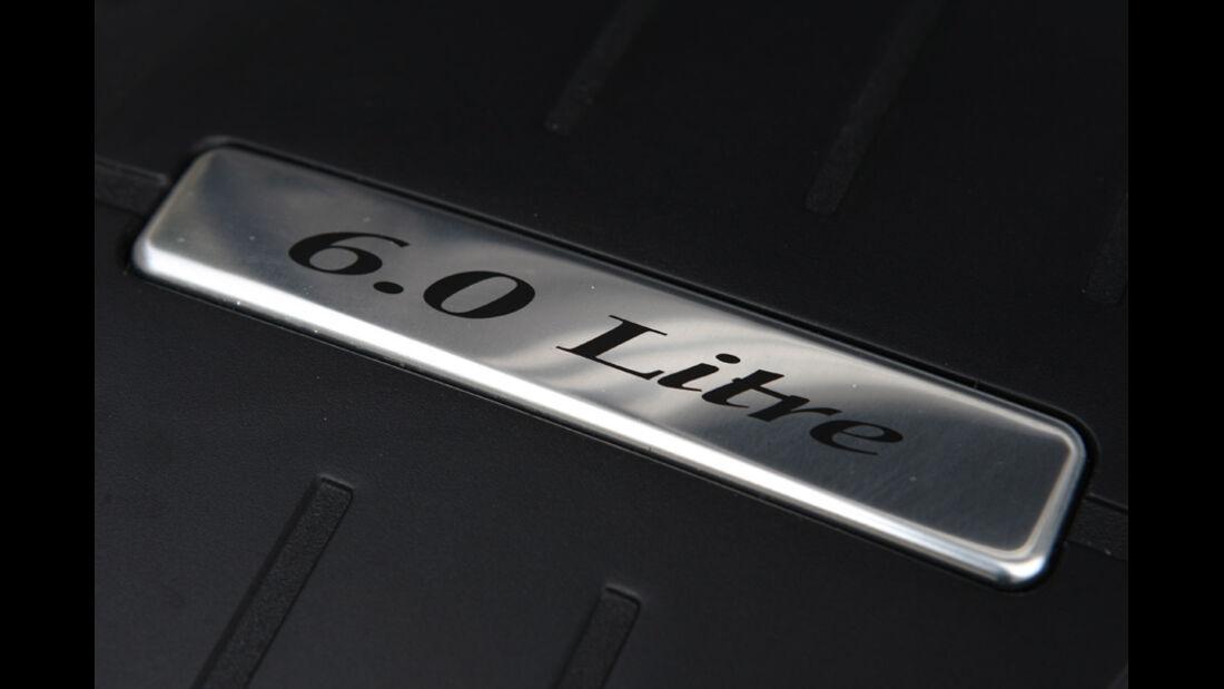Bentley Continental Supersports, 6.0 Liter-Emblem