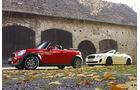 Bentley Continental Supersports Cabrio, Mini JCW Cabrio, sport auto-Zeitschrift 02/2011