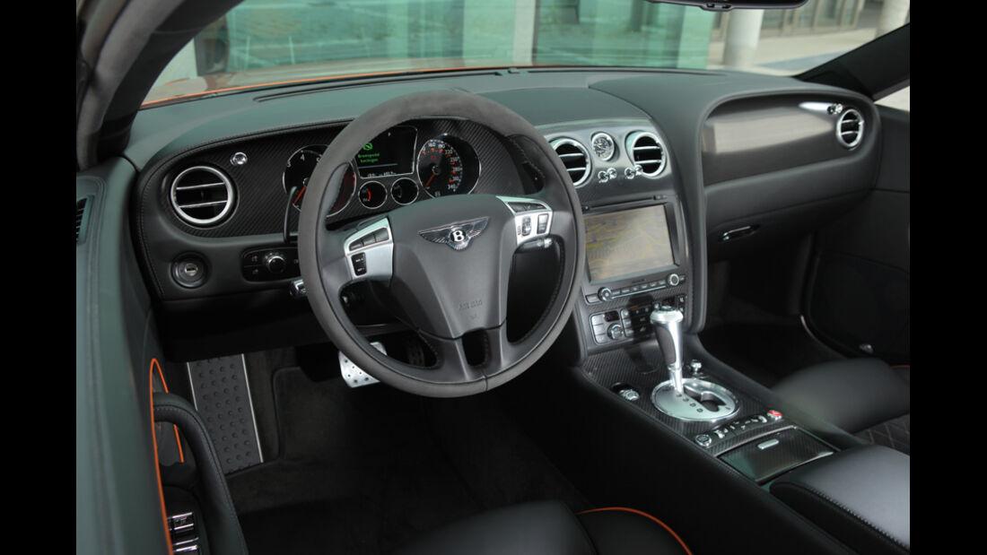 Bentley Continental Supersports, Cockpit