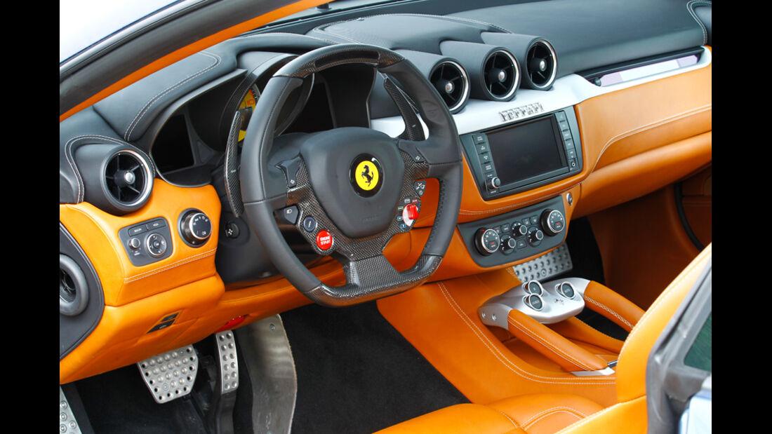 Bentley Continental Supersports, Cockpit, Lenkrad
