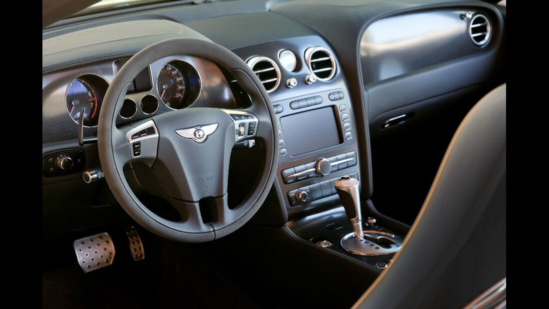 Bentley Continental Supersports Convertible Cockpit