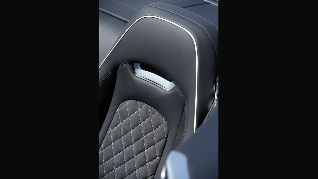 Bentley Continental Supersports Convertible, Fahrersitz