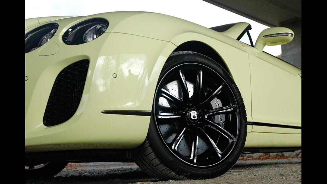 Bentley Continental Supersports Convertible, Felgen