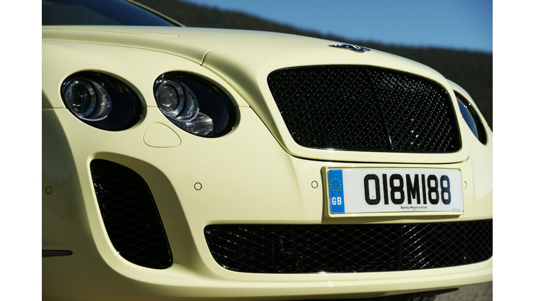 Bentley Continental Supersports Convertible Frontpartie