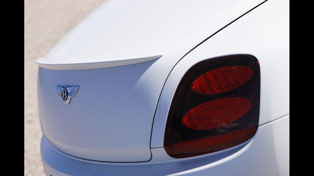 Bentley Continental Supersports Convertible, Heckspoiler, Rücklicht
