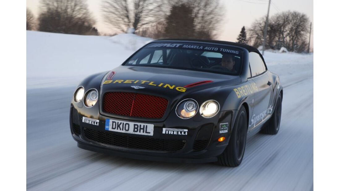 Bentley Continental Supersports Convertible ISR, Detail