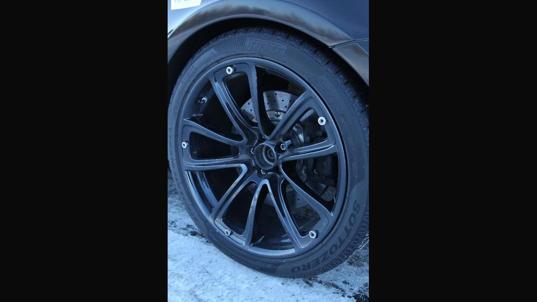 Bentley Continental Supersports Convertible ISR, Detail, Reifen