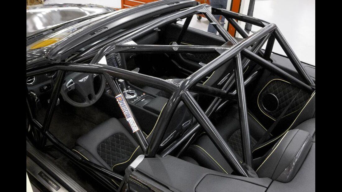 Bentley Continental Supersports Convertible ISR, Detail, Überrollkäfig