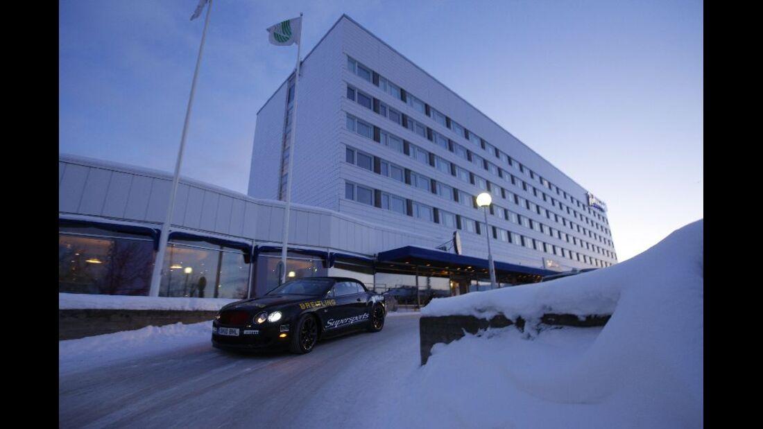 Bentley Continental Supersports Convertible ISR, Finnland