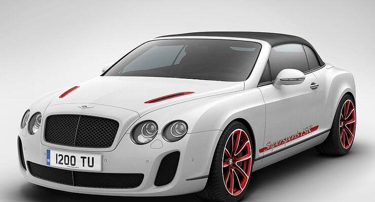 Bentley Continental Supersports Convertible ISR, Sondermodell