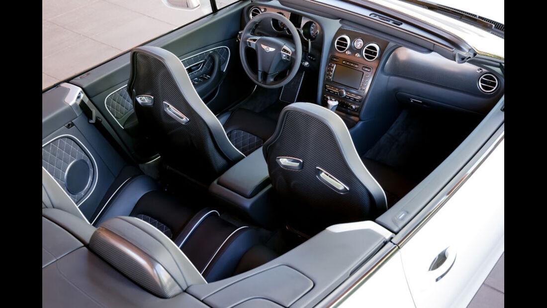 Bentley Continental Supersports Convertible, Innenraum