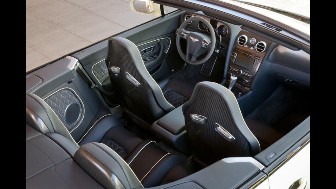 Bentley Continental Supersports Convertible Innenraum