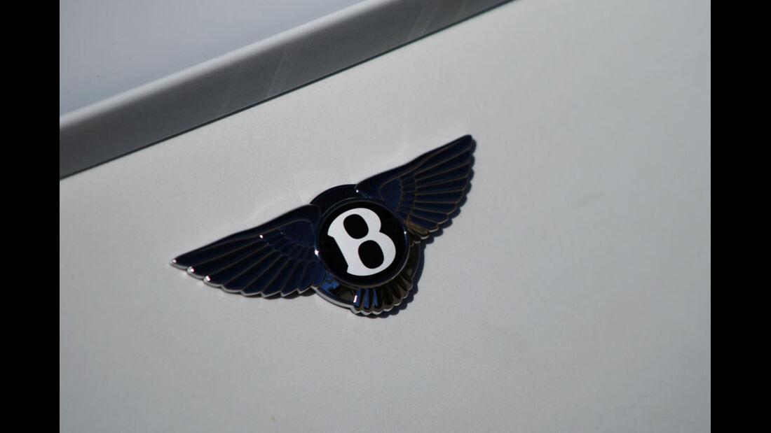 Bentley Continental Supersports Convertible, Markenemblem