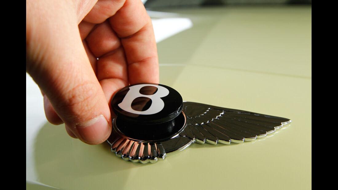 Bentley Continental Supersports Convertible, Markenzeichen